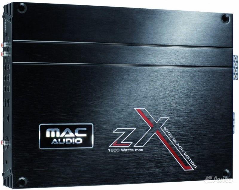 Mac audio zx 1000 black edition