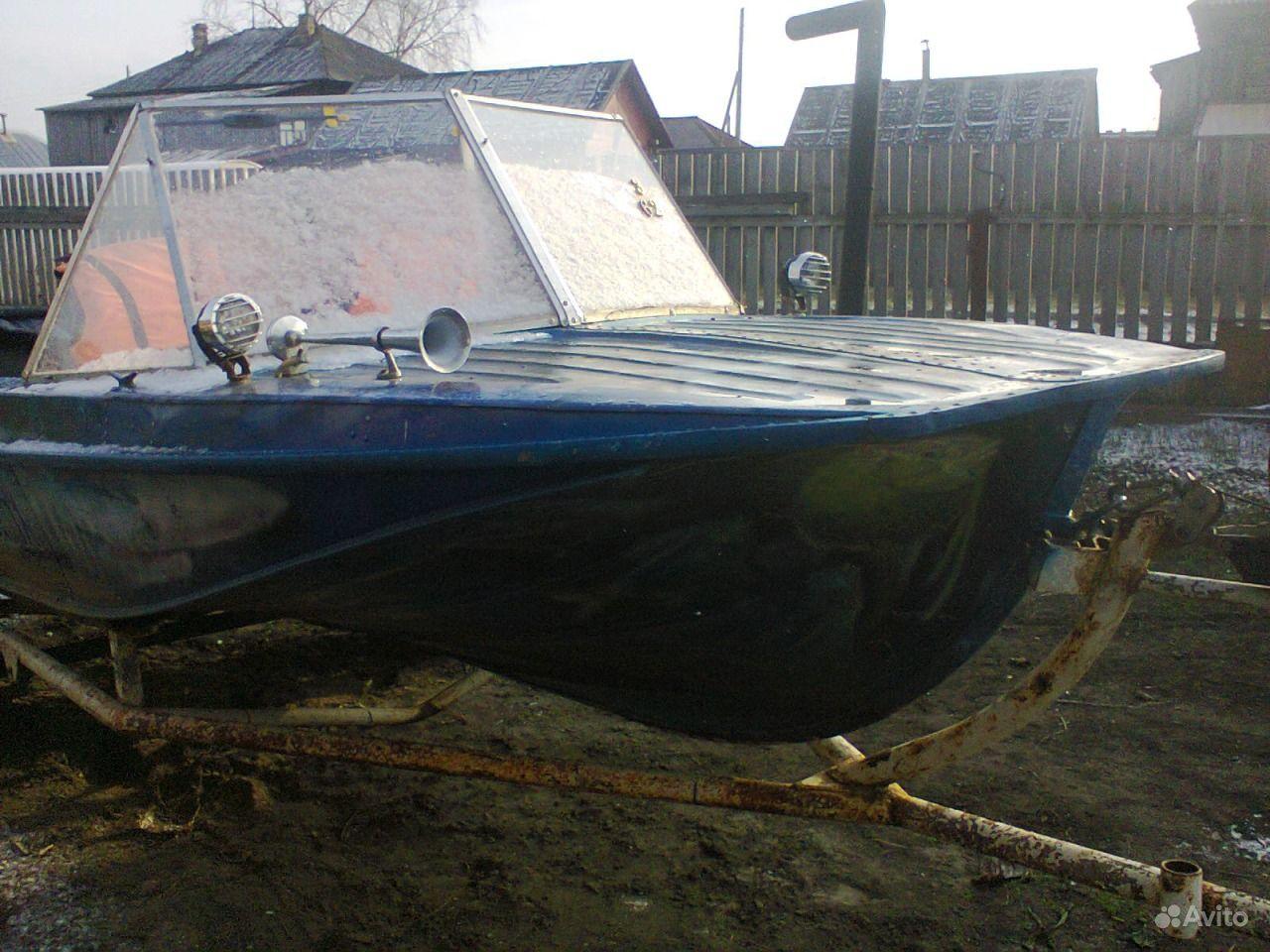 лодка казанка 5м2 на авито