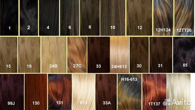Светло русый холодный цвет волос палитра