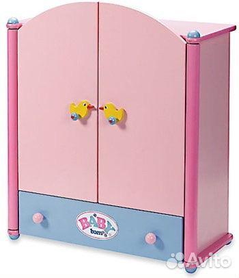 Шкаф для одежды беби борн