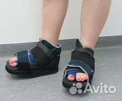 Послеоперационная обувь (обувь барука) в салонах сети