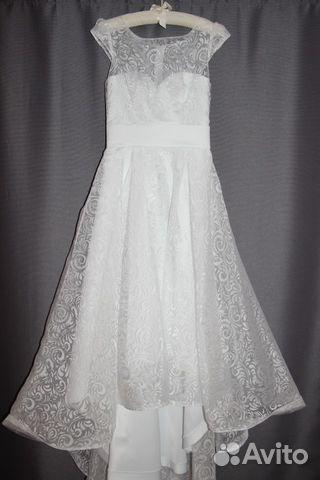Платье свадебное 42-44 размер 89677929779 купить 1