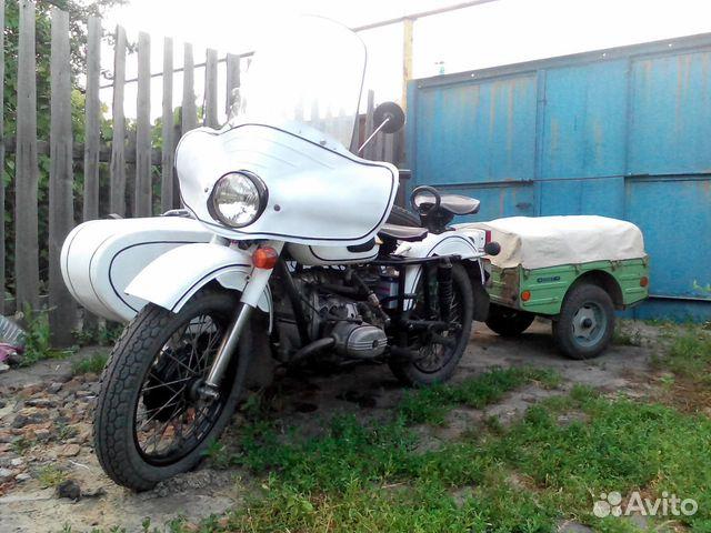 Прицепное на мотоцикл урал