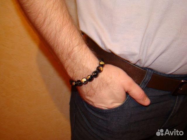 Мужские браслеты из камней на руку своими руками