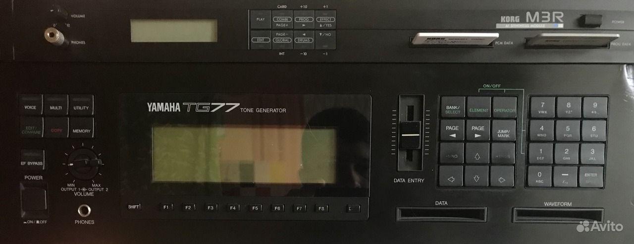 Korg M3R звуковой модуль рэковый синтезатор