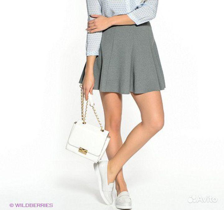 Серая юбка befree  ed6fd6c08e6b3