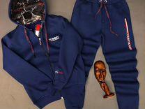 Спортивный зимний костюм Tommy Hilfiger новый.Сини — Одежда, обувь, аксессуары в Санкт-Петербурге