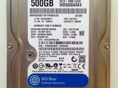 Жёсткий диск 500Gb Western Digital WD5000aakx