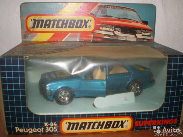 Matchbox superkings K-84 peugeot 305