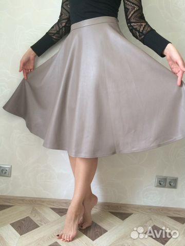 Авито купить юбку из кожи