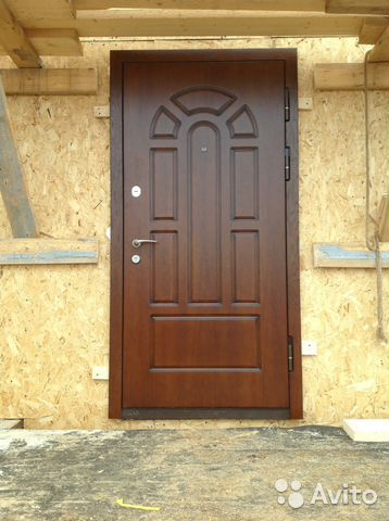 металлические двери для домов в истре