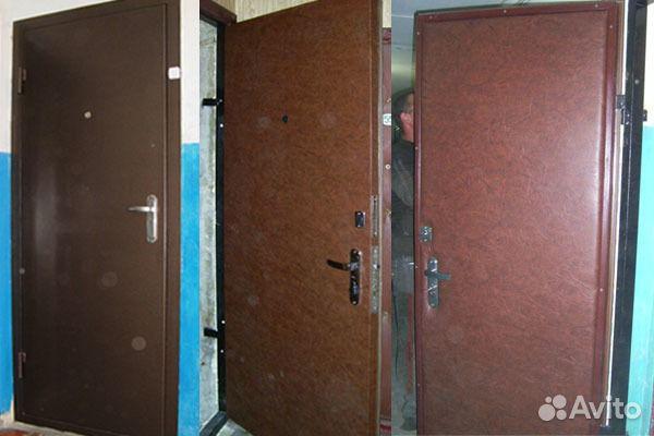 сколько стоит простая железная дверь в квартиру цена в рублях