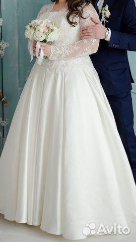Свадебные платья на размер 50 52 фото
