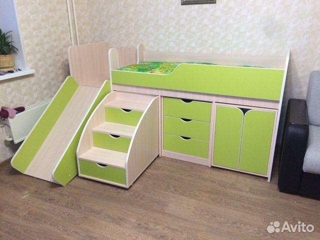 Детская кроватка   гипермаркет семья