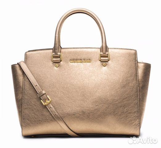 Золотая сумка michael kors осенние куртки dolce gabbana