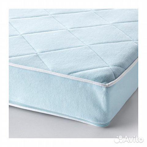 кровать детская икеа криттер с овечками матрас купить в москве на