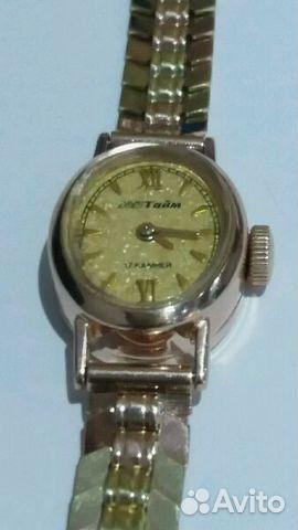 Продаю часы золотые «Мак Тайм» 585 пробы   Festima.Ru - Мониторинг ... 2da8a001967