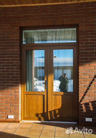 входные двери пвх в коттедж