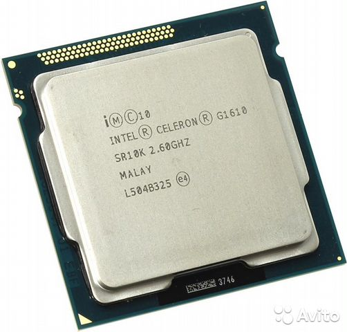 Intel Celeron G1610 Ivy Bridge (2600MHz, LGA1155— фотография №1