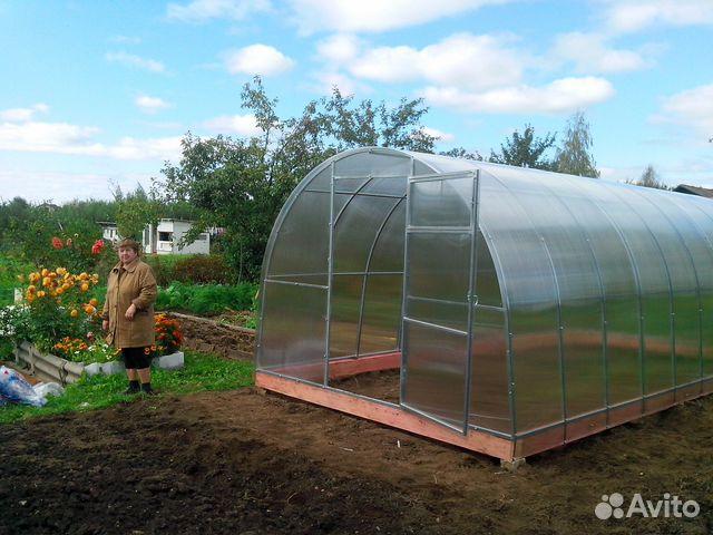 66be7e0a9763 Теплицы из поликарбоната от производителя купить в Костромской ...