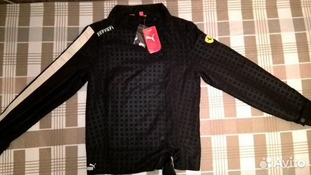 Puma ferrari куртка женская купить в Санкт-Петербурге на Avito ... 1e7ca310e95