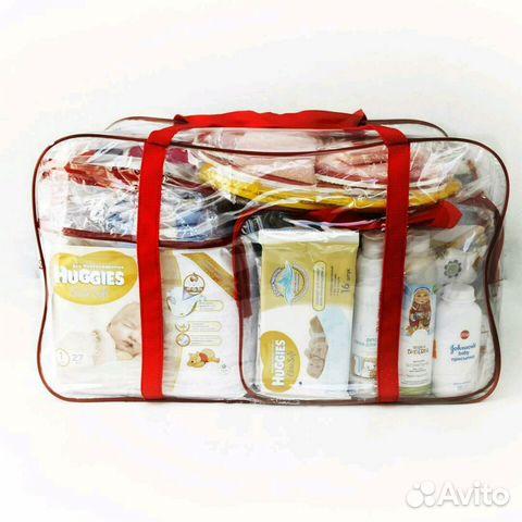 2498b92ca4c2 Прозрачная сумка в роддом без наполнения | Festima.Ru - Мониторинг ...