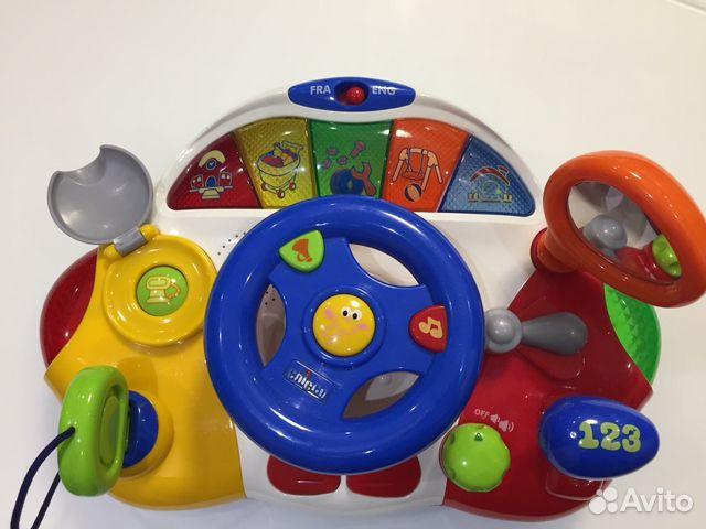 Chicco игрушка развивающая говорящий руль
