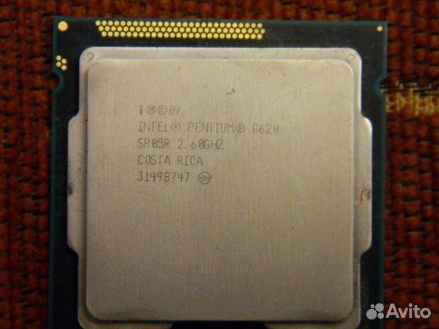 Процессор s1155 Pentium g620