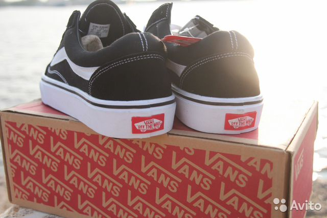 Кеды Vans Old Skool Black White (ванс олд-скул)  e3c2d647eda29