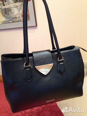 8345358a15e6 Сумка кожаная бренд Coccinele (оригинал ) купить в Москве на Avito ...