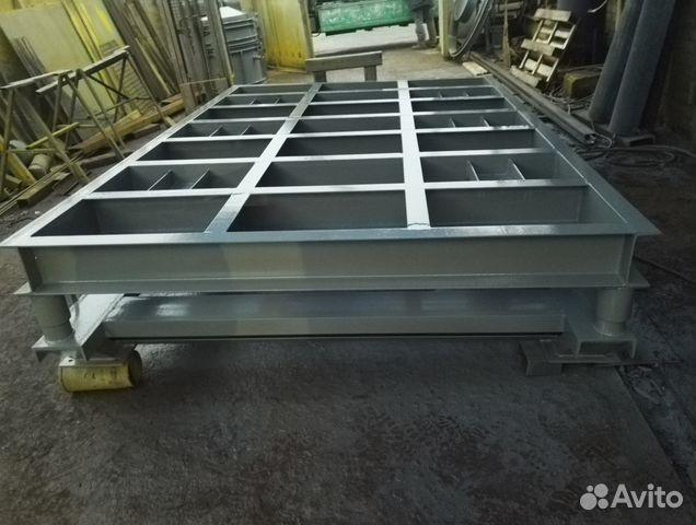 Виброплощадки для жби состоят из железобетонных блоков