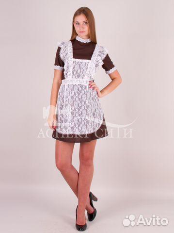 Платье и фартук на последний звонок, 14-290к купить в Москве на ... bc2efefc3e2