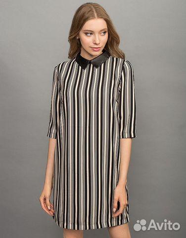 31bf2b85a74 Платье-рубашка Gloria Jeans в полоску