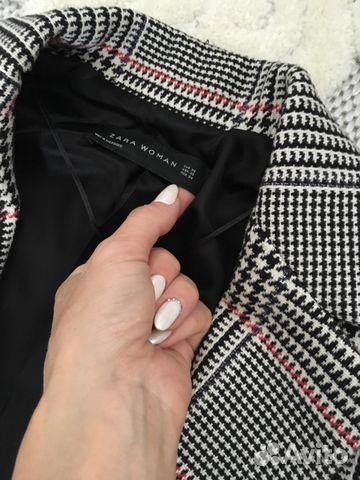 Пальто-блейзер Zara 89224756555 купить 2