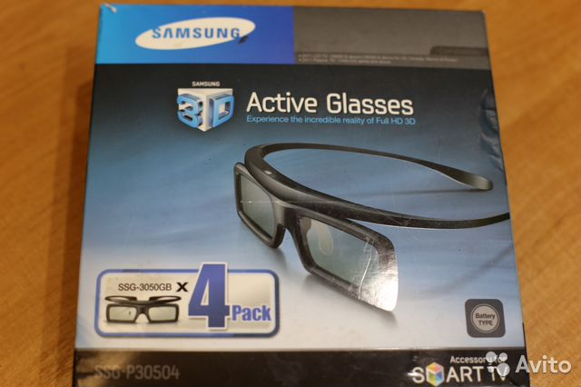 3D очки SAMSUNG 89005647771 купить 1
