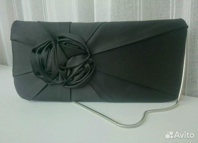79a9f374cd6b Чёрный клатч с бантиком | Festima.Ru - Мониторинг объявлений