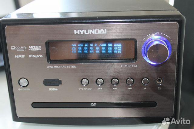 ь музыкальный центр hyundai h-ms1113