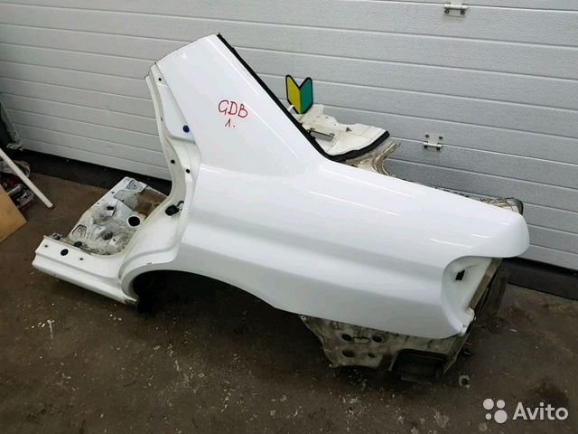 89625003353 Крыло заднее левое Subaru Impreza GDB