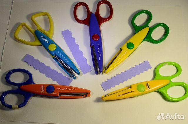 Дню, ножницы для изготовления открыток