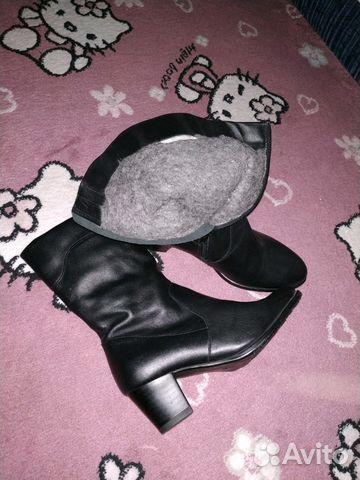 Сапоги новые зимние кожаные 89887087878 купить 2