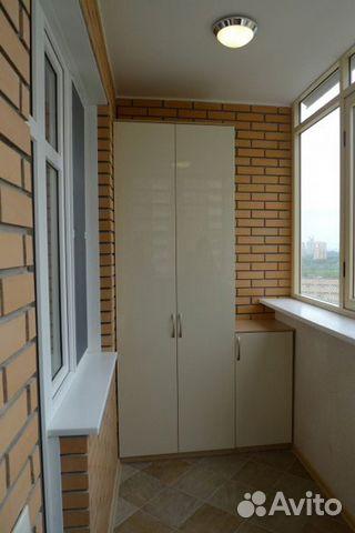 встроенный шкаф на балкон лоджию купить в москве на Avito