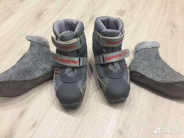 Ботинки лыж. Spine snowway jr р.32-33 купить в Свердловской области ... 6b4a960cf52