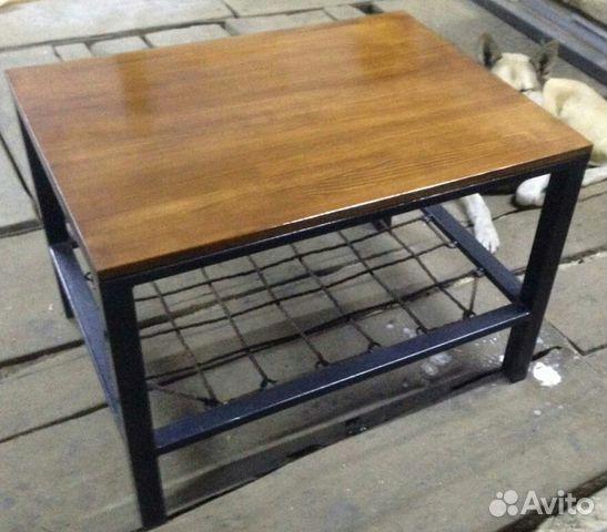 журнальный столик в стиле лофт купить в тюменской области на Avito