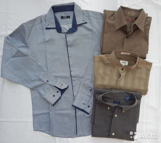 a5b024f3d8e Рубашки мужские с длинным рукавом р 50-52