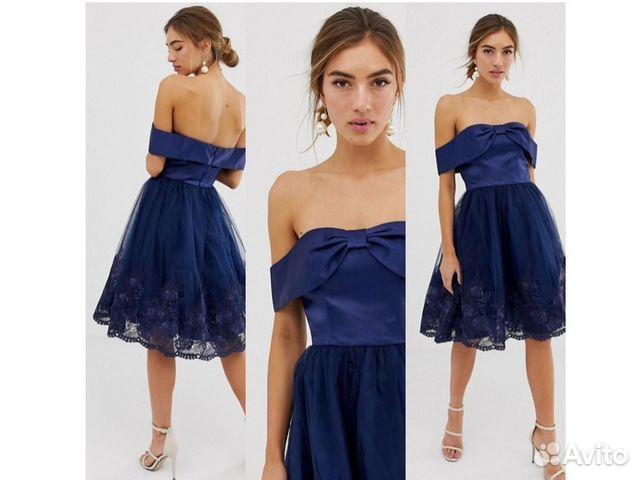 3df2b2bf9de Шикарное коктейльное платье с пышной юбкой купить в Москве на Avito ...