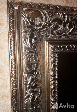 Зеркало в багетной раме (новое) 89102956621 купить 2