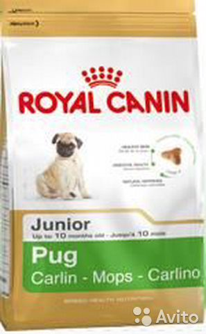 Royal Canin Pug Junior— фотография №1