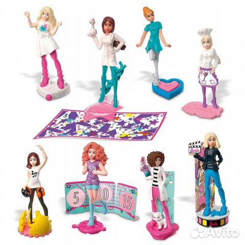 Барби профессии киндер 89081159579 купить 1