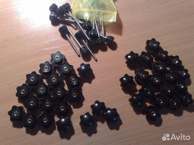 Гайки пластиковые барашки М4, М5 и винты М4 89024733544 купить 1
