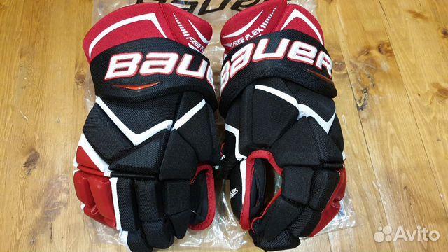 89036020550 Хоккейные перчатки Bauer 1x, p. 15, нов